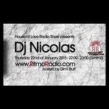 House Of Love Radio Show pres. Dj Nicolas Guest mix 22.Jan.2015