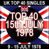 UK TOP 40: 09-15 JULY 1978