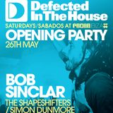 The Shapeshifters - Live at Defected In The House, Pacha Ibiza, Opening Party (26-05-2012)