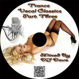 DJ Davo - Vocal Classics 3