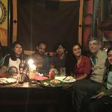 Soundwalk in Thamel by Night, Kathmandu on March 24, 2016