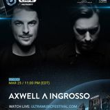 Axwell Λ Ingrosso - Live @ Main Stage, Ultra Music Festival Miami, MMW, United States 2017-03-25