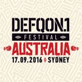 Bass Modulators @ The colours of Defqon.1 Australia 2016 - RED