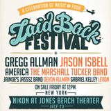 Gregg Allman @ Laid Back Festival - Jones Beach Theater (Wantagh, NY) 7/23/2016