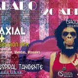Koaxial (Colectivo Espiral Sonora) Café Espiral Tangente Abril 2013 live!