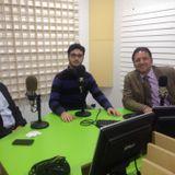 Mimmo Oliva e Francesco Minardi dell'Associazione POLIS sa a News in Musica