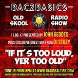 Bac2Basics with John Geddes 17/06/17