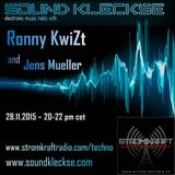Sound Kleckse Radio Show 0161.1 - Ronny KwiZt - 28.11.2015
