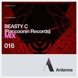 #ANTENNAMIX 016 RACCOONIN RECORDS MIX BY BEASTY C