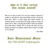 Inter-Dimensional Music WQRT 20180622