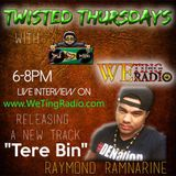 Twisted Thursday with DJ D Rock - Live Interview with Da Showstoppa Raymond Ramnarine