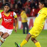 Santa Fe vs Huila , Liga Femenina FPC - Junio 24