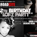 Broadcite 12th birthday Don Pascal Afro/Deep House mix
