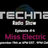 Insomnia.fm - TechnA Radio Show #4- Miss Electric