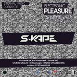 S-Kape - Live at Studio Saglio, Electronic Pleasure (03-12-16)