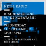 B-Side Sessions w Sarah Evans, Nick Lucas & Wormfood Records 11th December 2019