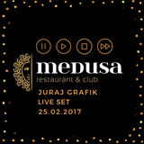 Juraj Grafik  5 hour set - live Medusa Wien - februar 2017