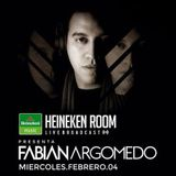 Fabian Argomedo @ Heineken Room - La Serena, Chile 04-02-2015
