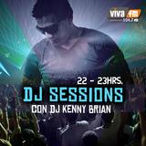 Kenny Brian @ Dj Sessions  VIVA FM 104.7 (Jueves 26 Junio 2014) Parte 2