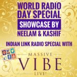 Massive Vibe Live! - World Radio Day Showcase (Indian Link Radio)