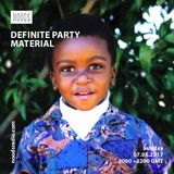 Definite Party Material: 07-05-17