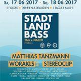 2 Stunden Stadt Land Bass Preparty @ Tanzhaus West Frankfurt/Main 17.06.2017