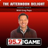Afternoon Delight - Hour 1 - 9/28/16