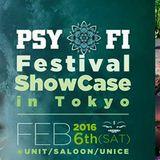 2016-2-6 Psy-Fi in Tokyo KURO TECHNO DJ SET