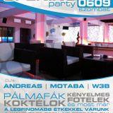 Andreas & Motaba & W3b - Live @ Wave Café Velence Café Opening Party 2012.06.09.