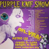 Vinyl Record Association show -It's the Purple Knif from Lux Interior!