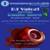 DJ Valozi and Friends Radio Show with Mr. Tikky and DJ Boxhead - Inersence Radio DNB - 17th Jan 2015