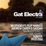 VK STUDIO & FILIP MARKES live on SAX @ Gat Electra ON BOAT 2016