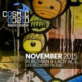 Cosmic Disco Radioshow - NOVEMBER 2015