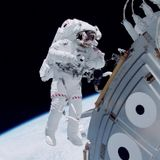 """Dr. Stepper """" LIVE """" at the International Space Station"""