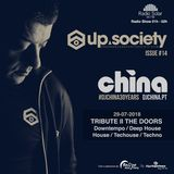 issue#14 Up society radio show Tribute II The Doors | DJ China