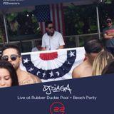 DJ DIAGA Live @ Rubber Duckie Pool + Beach Party