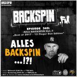BACKSPIN FM # 349 - Alles BACKSPIN Vol. 7 (Best of 2017 - 12 Finger Dan Edition)