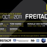 FREITAG LIMITED PRESENTS ADE 2011 SHOWCASE FEATURING - RONALD VAN NORDEN [TECHNO]