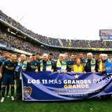 Homenaje a los vitalicios: Pelé, la inauguración de La Bombonera, y el recuerdo de José