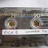 Rich B History: Mixtape November 1994