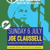 George Berman-Warm Up for Joe Claussell at Cariocas beach bar 6-7