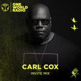 Carl Cox - Tomorrowland One World Radio Invite Mix - 14-May-2019