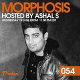 Morphosis 054 - Mixed by Ashal S - June 2019