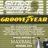 Groove Year #023 - Special Guestmix by Maximals