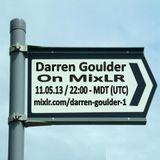 Darren Goulder on MixLR 11.05.13