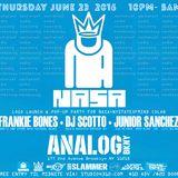 DJ SCOTTO & JUNIOR SANCHEZ live from NASA at ANALOG BKNY on the SBSslammer