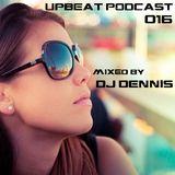 UpBeat 016 Mixed by DJ Dennis