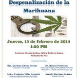 Foro de Promoción de la Salud: Despenalización de la Marihuana (13 feb 2014)