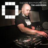 Culture Box Podcast 070 – Tim Andresen LIVE