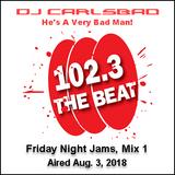 DJ CarlsBad on WCKG's The Beat Friday Night Jams 8/03/2018